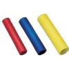 Tracon Electric Szigetelt toldóhüvely, ónozott elektrolitréz, sárga - 6mm2, (L=27mm, d1=3,9mm), PVC STH - Tracon