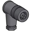 Schneider Electric Csatlakozó induktív érzékelőh. - Rögzítők és kábelek érzékelőkhöz - XZCC12FCP40B - Schneider Electric