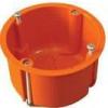Tracon Electric Gipszkarton doboz, mély, fedél nélkül, narancssárga - 65x60mm, IP44 GD60 - Tracon