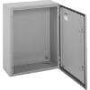 Freder fémszekrény 400x300x170mm szerelőlappal