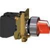 Schneider Electric Led-es választókapcsoló, piros, 240v, n/o+n/c - Fém működtető- és jelzőkészülékek-harmony 4-es sorozat-22mm - Harmony xb4 - XB4BK124M5 - Schneider Electric