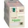 Schneider Electric Mini dugaszolható relé 2 váltó érintkező 12a 24vdc - Interfész relék - Zelio relaz - RXM2AB2BD - Schneider Electric
