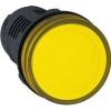 Schneider Electric Jelzőlámpa, sárga led - Műanyag vázas jelzőlámpák-harmony 7 sorozat 22-25mm - Harmony xb7 - XB7EV05MP - Schneider Electric