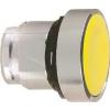 Schneider Electric Nyomógombfej sárga - Fém működtető- és jelzőkészülékek-harmony 4-es sorozat-22mm - Harmony xb4 - ZB4BH05 - Schneider Electric