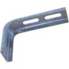 Metalodom Horganyzott oldalfali tartó konzol L 150x300 mm