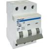 Tracon Electric Kismegszakító, 3 pólus, B karakterisztika - 2A, 10kA TDA-3B-2 - Tracon