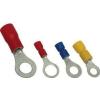Tracon Electric Szigetelt szemes saru, ónozott elektrolitréz, kék - 16mm2, M10, (d1=5,8mm, d2=10,5mm), PA KSZ16-10 - Tracon