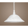 EGLO Húzós függeszték E27 1x100W 40cm fehér Alassandra 3355 Eglo