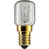 Philips Appliance 15W E14 230-240V T25 CL RF csőbúrás hűtőszekrény izzó 1CT, T25