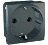 Schneider Electric UNICA TOP Csatlakozóaljzat védőföldelt 16 A IP20 Grafit MGU3.036.12 - Schneider Electric villanyszerelés