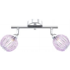 GLOBO – lighting Spot króm / akril gyöngy 2xG9 33W, Viola 56103-2 Globo Lighting