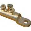 Tracon Electric Szakadófejes csavaros alumínium szemes csősaru - 185-240mm2, 2x(3xM16) AS185-240CS16 - Tracon