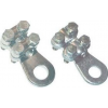Tracon Electric Csavarozható réz lemezsaru, 4 csavarral - 95-120mm2, M12, 4x(M8x35) WCJB-95-120 - Tracon