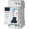 Tracon Electric Kombinált védőkapcsoló, 2P, 2 modul, C karakterisztika - 25A, 300mA, 3kA, AC KVK-2530 - Tracon