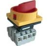 Tracon Electric Tokozott biztonsági lakatolható szakaszoló kapcsoló, sárga - 400V, 50Hz, 20A, 3P, 5,5kW, 48x48mm, IP44 TSS-203TS - Tracon villanyszerelés