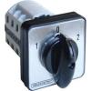 Tracon Electric Választókapcsoló, 1-0-2 - 400V, 50Hz, 63A, 2x3P, 18,5kW, 64x64mm, 90° TKV-6363 - Tracon