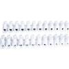 Tracon Electric Flexibilis sorozatkapocs, H profil, 12 tag, fekete - 6mm2, 450V, 40A, PP SF10A-H - Tracon