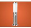 EGLO Kültéri kicsi álló lámpa PL 1x15W E27 mag:43cm szenzoros nemesacél Helsinki 83279 Eglo kültéri világítás