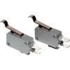 Tracon Electric Helyzetkapcsoló, mikro, íves-rugószár - 16(4)A / 250V AC, 28mm, 6,3x0,8 mm, IP00 KW3-61 - Tracon