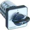 Tracon Electric Választókapcsoló, 0-1-2 - 400V, 50Hz, 125A, 2x3P, 30kW, 88x88mm, 90° TKB-1293 - Tracon