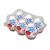 Tenga TENGA Keith Haring - Egg Street Variety (6db)