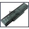90-NE51B2000 4400 mAh 6 cella fekete notebook/laptop akku/akkumulátor utángyártott