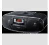 Panasonic RX-D 55 AEG-K CD-s rádiómagnó, fekete hordozható cd lejátszó