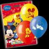 Disney lufik Mickey egér, Repcsik, Hét törpe, 10 db  (3.)