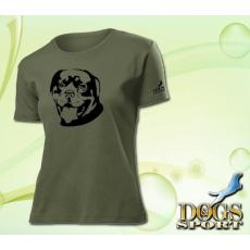 Dogs & Sport Rottweiler női póló (Női rövid ujjú póló )