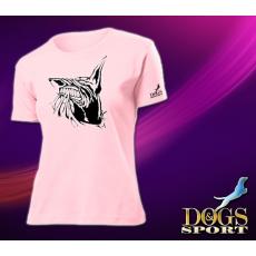 Dogs & Sport Doberman női póló 2 (Női rövid ujjú póló )