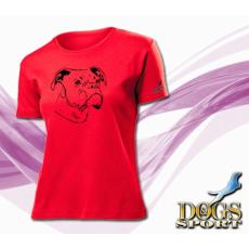 Dogs & Sport Boxer női póló (Női rövid ujjú póló )