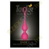 ToyJoy Sphere 2 stimuláló gésagolyó - rózsaszín