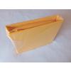 GUMIS lepedő Jersey 160x200 cm - napsárga