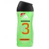 Adidas 3in1 Active Start Férfi dekoratív kozmetikum Tusfürdő gél 400ml