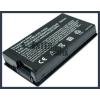 X85SE 4400 mAh 6 cella fekete notebook/laptop akku/akkumulátor utángyártott