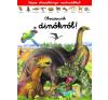 Napraforgó Könyvkiadó Képes olvasókönyv matricákkal - Olvassunk a dinókról! gyermek- és ifjúsági könyv