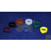 Silicone Neck Ring Clip 13mm Blue