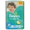 Pampers Active Baby 4+Maxi GiantPack Pelenka, 70 db