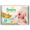Pampers Premium Care 0 Newborn Pelenka, 30 db