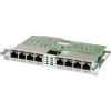 Cisco Eight port 10/100/1000 Ethernet switch interface card w/ PoE