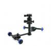 Foton - accessories MOOVIE PRO (SWF PRO) - mini dolly for cameras and camcorders - with PRO head.