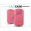 Deco DECO SLIM univerzális bőrtok - LG P920 Optimus 3D/Sony Xperia Z1 Compact/Samsung G3500 - pink - 14. méret