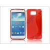 Samsung Samsung SM-G850 Galaxy Alpha szilikon hátlap - S-Line - piros