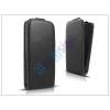 Slim Slim Flexi Flip bőrtok - Samsung SM-G900 Galaxy S5 - fekete