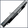 X450CA 2200 mAh 4 cella fekete notebook/laptop akku/akkumulátor utángyártott