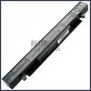 X550CC 2200 mAh 4 cella fekete notebook/laptop akku/akkumulátor utángyártott