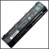 Toshiba PA5027U-1BRS 6600 mAh 9 cella fekete notebook/laptop akku/akkumulátor utángyártott