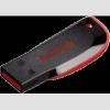 Sandisk Cruzer Blade fekete/vörös 32GB pendrive SDCZ50-032G-B35 (114712)