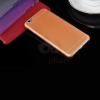 Iphone 6 szilikon tok - matt narancssárga