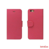 CELLECT Samsung Galaxy S6 flip oldalra nyiló tok,Pink